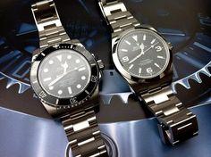 Sub vs Explorer. - designer watches for men, branded watches for men with price, stylish watches for men with price *sponsored https://www.pinterest.com/watches_watch/ https://www.pinterest.com/explore/watch/ https://www.pinterest.com/watches_watch/kids-watches/ http://www.swarovski.com/Web_US/en/03/category/Watches.html