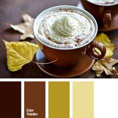 Lovely warm range of colors. Soft pastel lemon, mustard are ideally accompanied…
