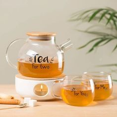 Set da thé - Tea for two Bob Ross, Cadeau Couple, Tee Set, Cocktails, Buddha Bowl, Fun Cup, Food Truck, Tea Time, Tea Pots