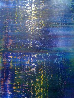 Gerhard Richter at Beaubourg in Paris