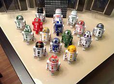 Star Wars DROID FACTORY Disney Weekends TOURS Exclusive set 16 Build Figure
