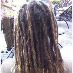 Kristen's 2 year old locs before.  Www.knottedbyknature.com