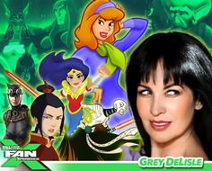 BONUS! Grey DeLisle will join Shea Fontana for the DC Super Hero Girls panel at #FANX16. #utah