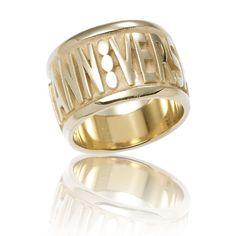 Anniversary in argento palladiato+doppia placcatura in oro giallo
