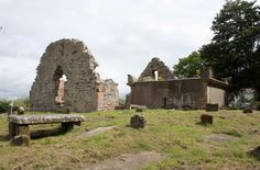 Old Ballykelly Prebyterian Church and cemetary grounds.  Ballykelly, Northern Ireland.