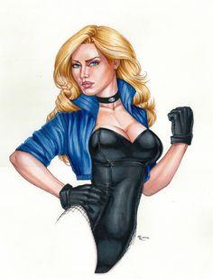 Black Canary 2 , in RhiannonOwens's DC Color Comic Art Gallery Room - 1048855