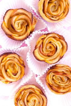 Puff Pastry Apple Roses 2