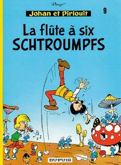 The Smurfs (Les Schtroumpfs) Johan & Pirlouit, Flûte à six schtroumpfs Peyo first appearance of the Smurfs 23 October 1958
