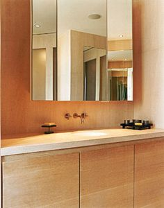 Modern Penthouse Bathroom Vanity