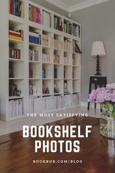 These before and after photos of bookshelves will leave you satisfied.  #books #bookshelf #bookshelves Bookshelf Organization, Library Inspiration, Most Satisfying, Before And After Pictures, Book Shelves, Book Nooks, Great Books, Book Lovers, Bookcase