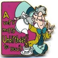 Pin 34383 DLR - Cast Lanyard Series 3 - A Very Merry Unbirthday To You! (Mad Hatter)