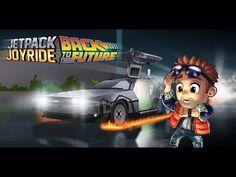 Jetpack Joyride Back to the Future Traile