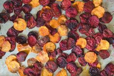 Healthy and Homemade: Beet and Sweet Potato Chips #theeverygirl