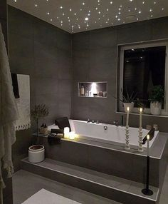 Bathroom inspiration // house interior decorBathroom inspiration // house interior design ideas for a small bathroom - fun home design - design ideas for a small bathroom - Fun Home Design - bad Dream Bathrooms, Beautiful Bathrooms, Luxurious Bathrooms, Modern Bathrooms, Small Luxury Bathrooms, Romantic Bathrooms, Luxurious Homes, Modern Bathtub, Rustic Bathrooms