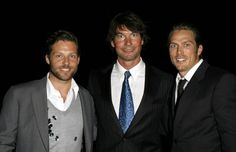Jerry O'Connell, Jamie Bamber, and Jason Lewis