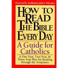 How to Read the Bible Every Day - A Guide for Catholics
