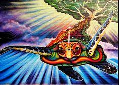 Turtle Island. Native American Earth creation story.