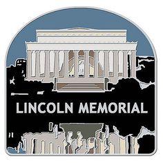 Lincoln Memorial Collectible Lapel Pin $5.95