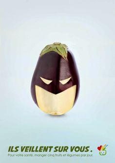 El espejo lúdico: Las súper frutas te observan