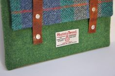 HARRIS TWEED fabric case for 10 iPad/Nexus by EsplanadeLondon, £40.95 - now on my wish-list :)