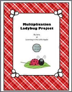 Multiplication Ladybug Project from Learning in the Little Apple on TeachersNotebook.com -  (4 pages)  - This simple craft provides an easy way to review multiplication with multiples of 2.