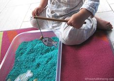 Fishing for Numbers & Colors   Powerful Mothering