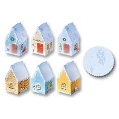 Adventskalender Weihnachtsdorf 26 teilig, 10,60 € Designs, Sticker, Boxes, Advent Season, Stocking Stuffers, Advent Calenders, Crafting, Appliques, House