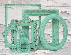 Painted picture frames