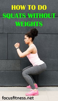 If you want to get the most out of squats without using weights, this article will show you the most effective way to build muscle and strength using bodyweight squats. #squats #bodyweight #focusfitness