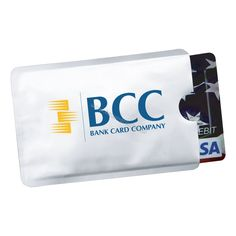 Promotional Products Ideas that work: Rfid credit card protector sleeve. Get yours at www.luscangroup.com
