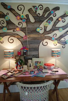 fun for wall of kid's room or playroom