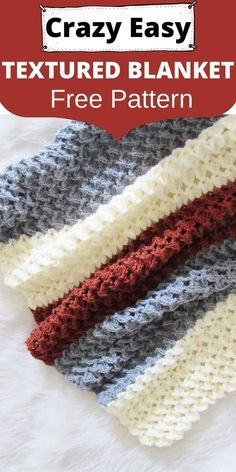Do you love crochet blanket patterns that are quick to work up? Then you will love this 3D stitch afghan. The tutorial is easy enough for beginners and has a video tutorial for the stitch used. #crochetblanket, #crochetafghan, #crochet, #freecrochetpattern, #crochetbabyblanket