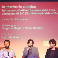 Vanni Santoni e Gregorio Magini presentano #InTerritorioNemico al #SalTo13 con Dario De Marco Ecards, Memes, Movie Posters, Film Poster, Popcorn Posters, Billboard, E Cards, Meme, Film Posters