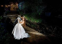 A late night break from the party. Night Photography, Wedding Photography, Off Camera Flash, Scene Photo, Late Nights, Party Wedding, Wedding Portraits, Bride Groom, Kiss
