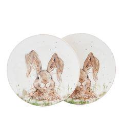 Shop for Southern Living Easter Digger Bunny Salad Plates Set of 2 at Dillards.  sc 1 st  Pinterest & Southern Living Easter \u0027CLOVER\u0027 Bunny Salad Plates Set of 2. $20 ...