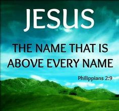 "everyone knows in their soul that Jesus is God.  Think about even the unbeliever how he/she uses the Name of Jesus - even though it is in vain, it's not like they're crying out ""Buddha"" or ""Muhammed.""  Did you ever ask yourself why not?!   Because the soul knows Jesus is truly the Name above ALL names..."