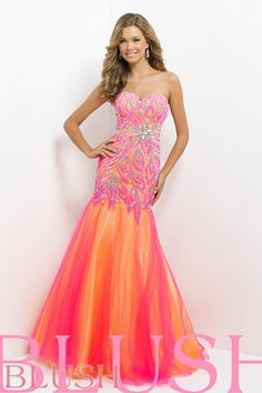 Blush Prom - Style #9722 It's Your Day Bridal Boutique 1661 Front Rd. Lasalle, ON 519-978-5003