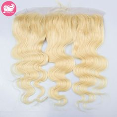 57.80$  Watch now - http://ali3uy.worldwells.pw/go.php?t=32664827668 - 613 Blonde Lace Frontal 13x4 Brazilian Virgin Human Hair Full Lace Frontals Blonde Body Wave Lace Frontal Closure With Baby Hair