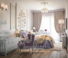 Bedroom with Nursery Corner