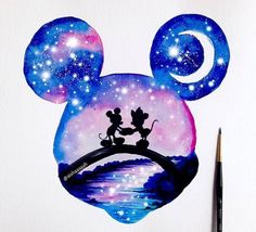 Everyone loves Disney, right ? Double exposure of . - Everyone loves Disney, right ? Double exposure of … – - Disney Art, Disney Kunst, Disney Crafts, Cute Disney Drawings, Cute Drawings, Drawing Disney, Mickey Mouse Drawings, Dory Drawing, Minnie Mouse Drawing