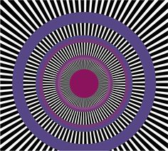 The direct origins and influences on Op Art - Bauhaus, Kinetic art, pattern and illusion, perspective, the science of perception and colour theory Color Illusions, Cool Optical Illusions, Art Optical, Illusion Kunst, Illusion Art, Bridget Riley, Best Graffiti, Victor Vasarely, Graffiti Artwork