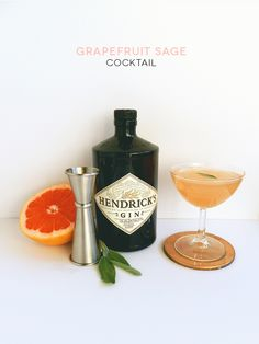 Grapefruit Sage Cocktail