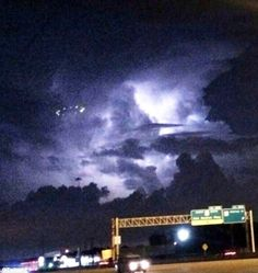 Houston is ablaze with people reporting a UFO flying over their city on the evening of 11 Aug. Images of what appear to be a circle of lights, hovering in the clouds, are being distributed on social media, including Twitter.