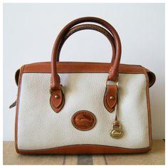 Vintage Dooney And Bourke Handbag All By Newoldfashionvintage 72 00 Radley Handbags Tote