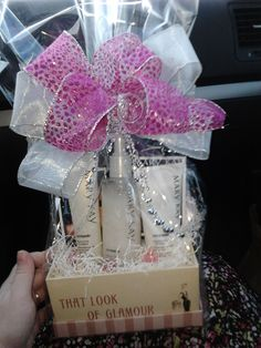 Pick your favorite Mary Kay products and I'll turn them into a fabulous present for someone special.