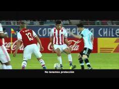La publicidad de TyC Sports por la Copa America Centenario que se va a disputar en Estados Unido (por eso con Donald Trump y el equipo argentino como protago...