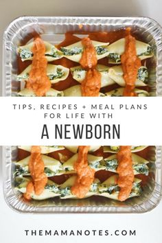 how to meal prep before your baby is born