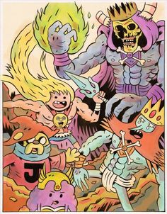 spacegods616: Adventure Time He-Man