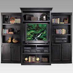 Kathy Ireland Home By Martin Furniture Southampton Onyx Entertainment Center
