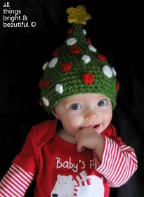 All Things Bright and Beautiful: Christmas Tree Beanie